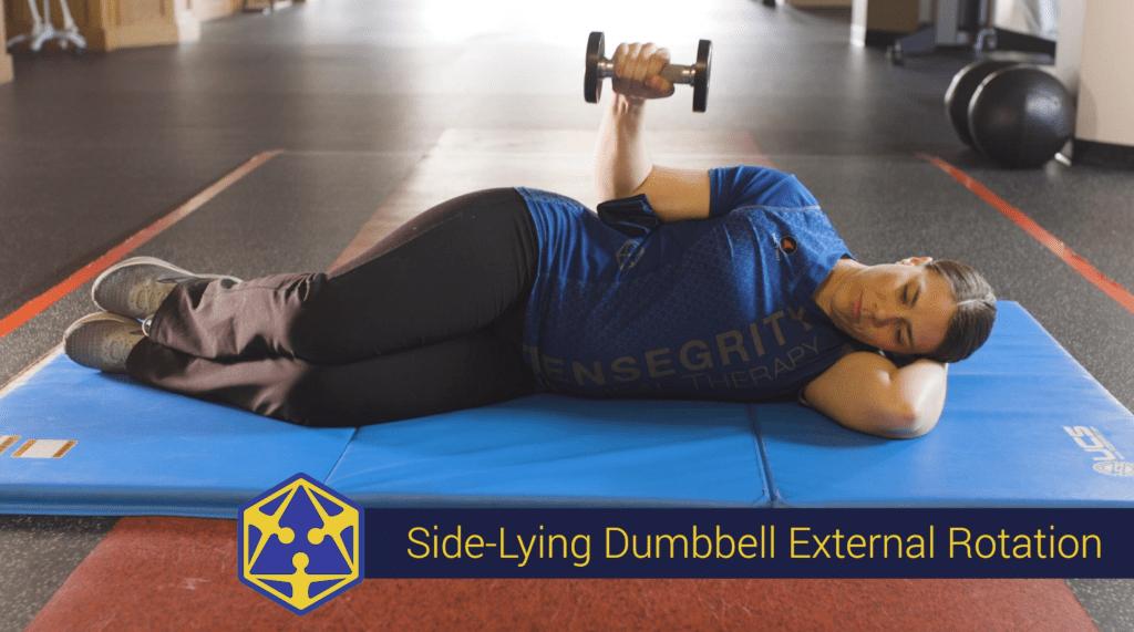 shoulder external rotation physical therapy exercise eugene oregon