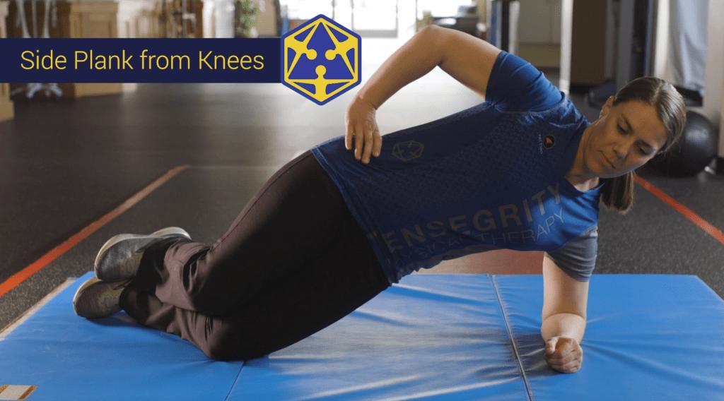 side plank eugene oregon physical therapy exercise strengthening core yoga