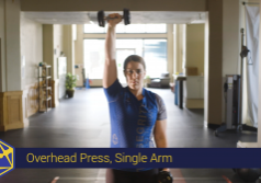 single arm overhead press tensegrity physical therapy eugene oregon