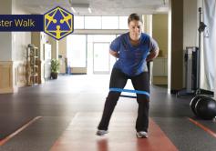 monster walk hip strengthening tensegirty physical therapy eugene oregon
